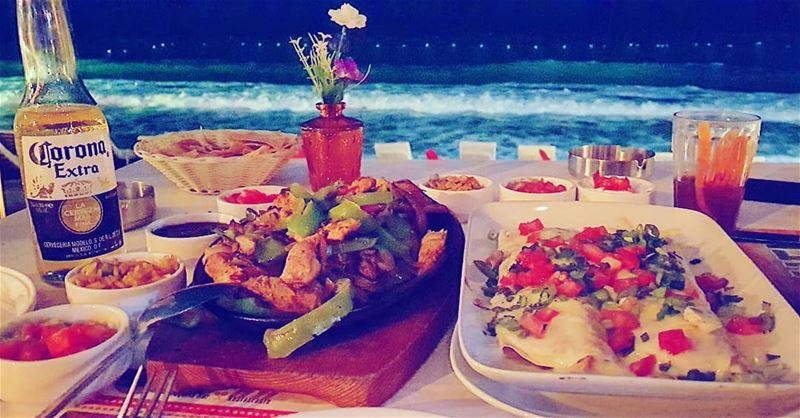 Lebanon Byblos Jbeil Mexican Bar Beach fajitas burrito ... (Maracas Playa- Tequila Bar y Restaurante)