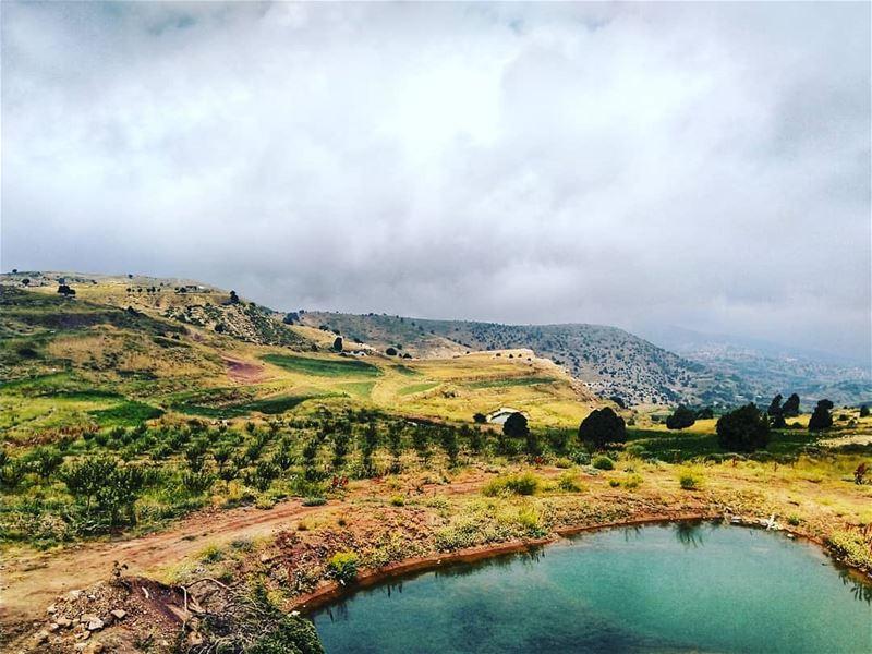 Amazing view by @firassafwan hermel hermel_city jord_elhermel bekaa ...