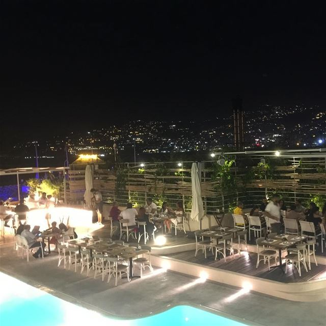 night nightlife summer jounieh lebanon lebanesenight restaurant ...