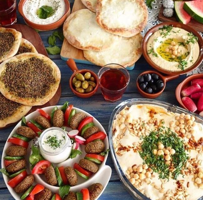 The best morning breakfast lebaneseandproud lebanon foodblogger...