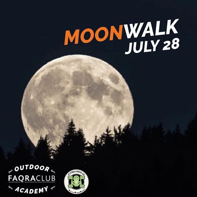 Take a walk on the moon light! Join us this Saturday at 8:30pm for a hike...