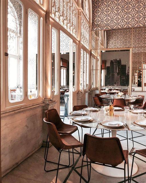 How about lunch here? Beirut interior iamatraveler..... vsco... (Liza)