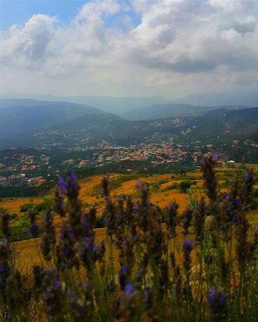 lebanon mountain over ... (Falougha, Mont-Liban, Lebanon)