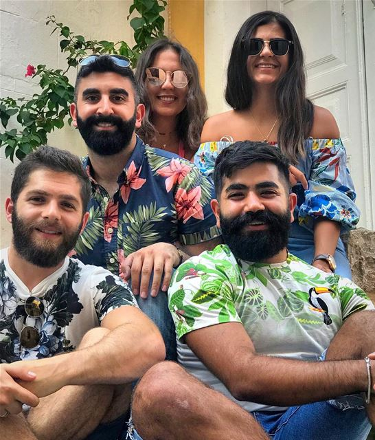 🌵🌺🌱🌹🍀🌷☘️💐🍂🍃🌾 floral  pattern  shirts  trendy  beards  beard ... (Tyre, Lebanon)