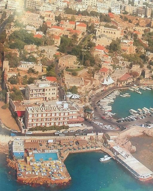 Byblos Sur Mer in the 80's  oldbutgold  oldphotos  jbeil  port  byblos ... (Byblos - Jbeil)