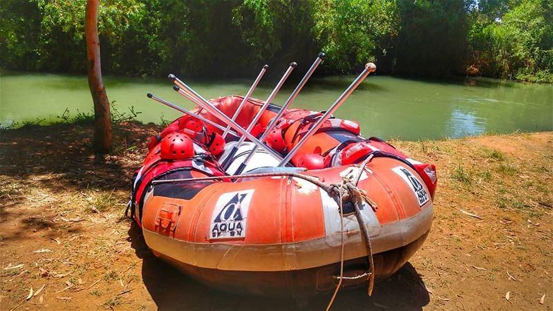 Are you ready?!🚣♂🌊💧💦 Photo by @ranim_ghass rafting raftingtrip ... (El Hermel, Béqaa, Lebanon)