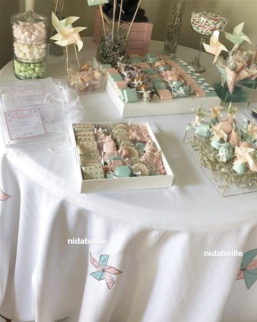 Complete your set up with our tablecloth design 🍒Write it on fabric by...