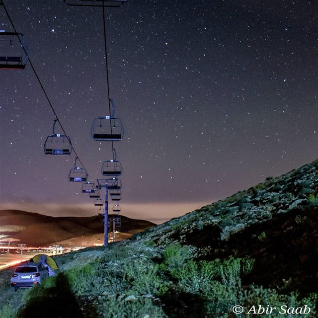 On a starry night like this.. .. lebanon kfardebian starrynight ... (Wardeh Kfardebian)