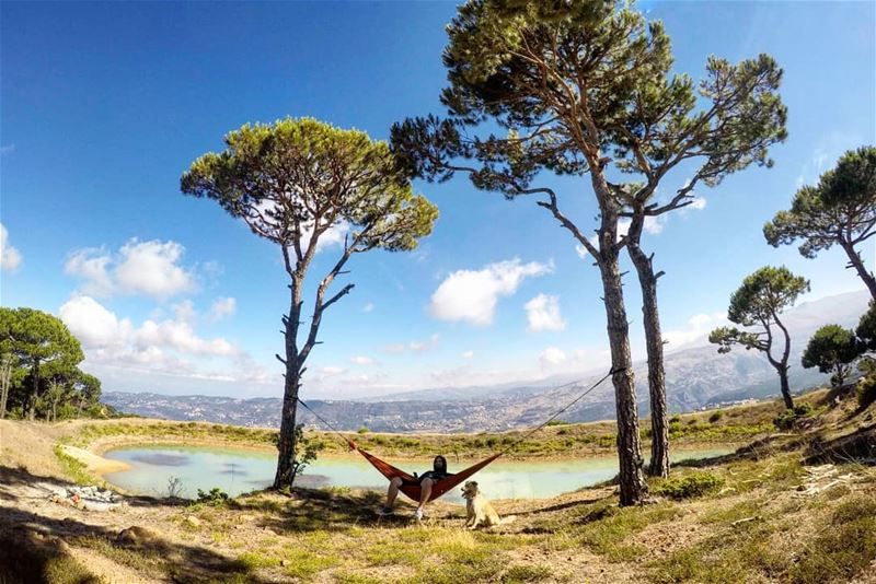 Good Morning from Falougha Lebanon Chill Relax Chillax Hammock ... (Falougha, Mont-Liban, Lebanon)