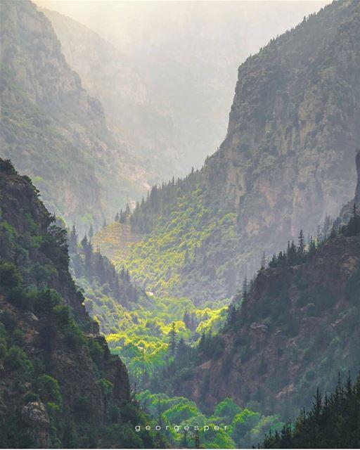 Have a beautiful Monday...By @georgesper--------------------------------- (Kadisha Valley)