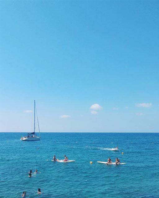 Oh summer Days! 🌊⛵..... ta7telri7 anfeh lebanon lebanontraveler ... (Tahet el-rih تحت الرّيح)