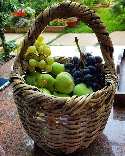 Fresh fruits from the garden. zahle lebanon garden fruits summer figs... (Zahlé, Lebanon)