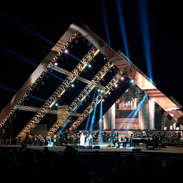 majidaelroumi concert music cedarsinternationalfestival ... (Cedars of God)