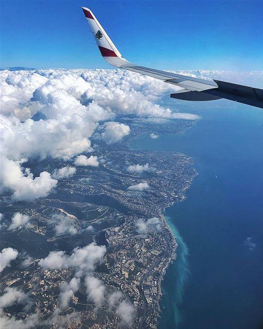 | Landing in Lebanon | beirut livelovebeirut fromthetop topview ... (Beirut, Lebanon)