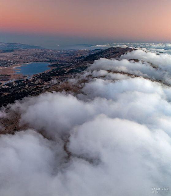 Don't let the mountains stop you ⛰️... chouf bekaa lebanon dji ... (Al Shouf Cedar Nature Reserve)