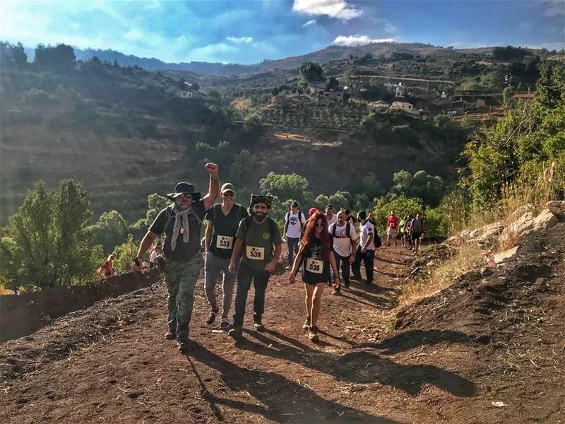 Summits race with rangers.... lebanon beautifuldestinations ... (El Laqloûq, Mont-Liban, Lebanon)