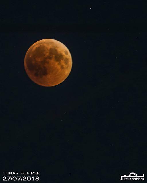 lunareclipse bloodmoon 2018 lebanon middleeast sky mooneclipse ... (Beirut, Lebanon)