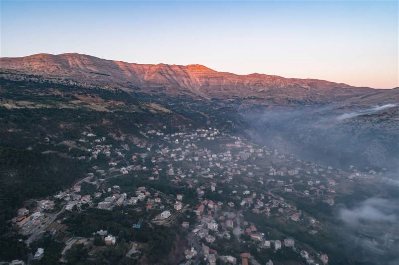 The beauty of my village BASKINTA.... AboveLebanon  Lebanon ... (Baskinta, Lebanon)
