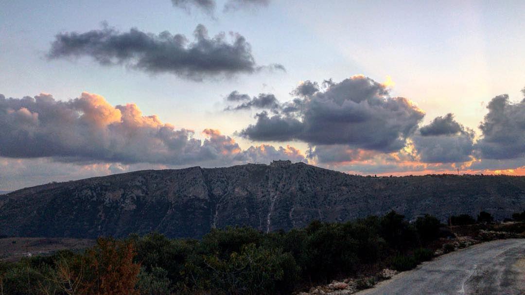~..From dusk till dawn..✨~••• dreamlebanon dream castel history ... (Beaufort Castle, Lebanon)