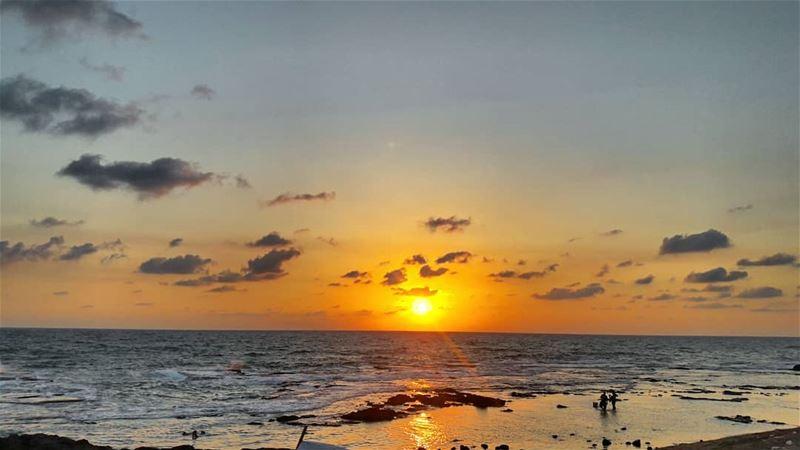 Tripoli 🌅 Lebanon Sunsets fishing fishinglife fishingtime ... (El Mina, Lebanon)