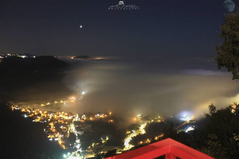 Magical night 🌌• • • chouf shoufreserve lebanon beirut ...