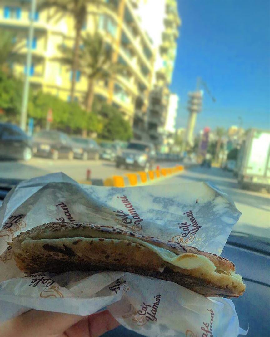 Good morning From Tripoli, Lebanon😍 ....كعكة بجبنة 😻......