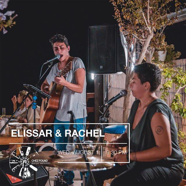 This Wednesday Elyssar & Rachel international songs selection! Don't miss... (Tahet el-rih تحت الرّيح)