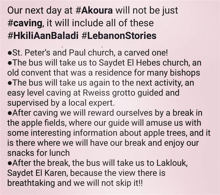 HkiliAanBaladi LebanonStories tourism tours livelovelaklouk✌🏼️ ... (Akoura, Mont-Liban, Lebanon)
