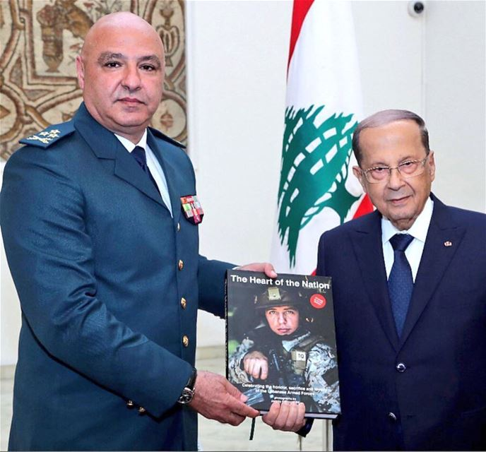 On the occasion of 73rd anniversary of  lebanesearmy Army Commander Gen...