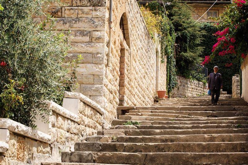 درج الورد (Deïr El Qamar, Mont-Liban, Lebanon)