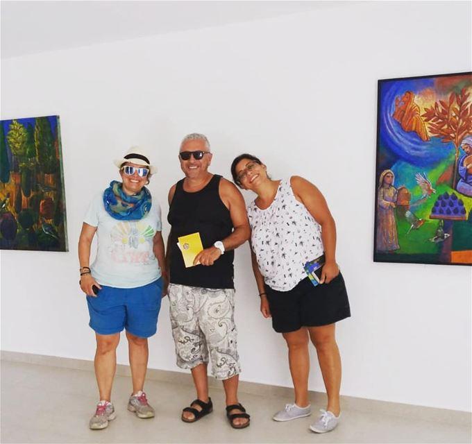 Encounter with the lebanese painter Jihad abousleiman. Magnificent... (Majdalyun, Liban-Sud, Lebanon)