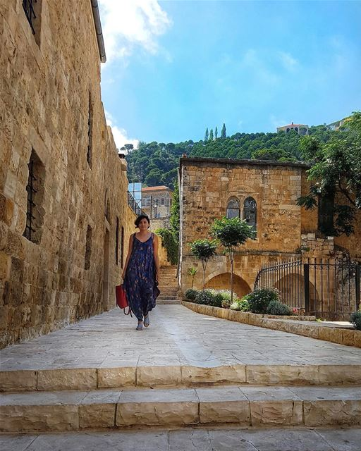 tbt to our staycation in Chouf! We loved roaming the beautiful streets of... (Chouf)