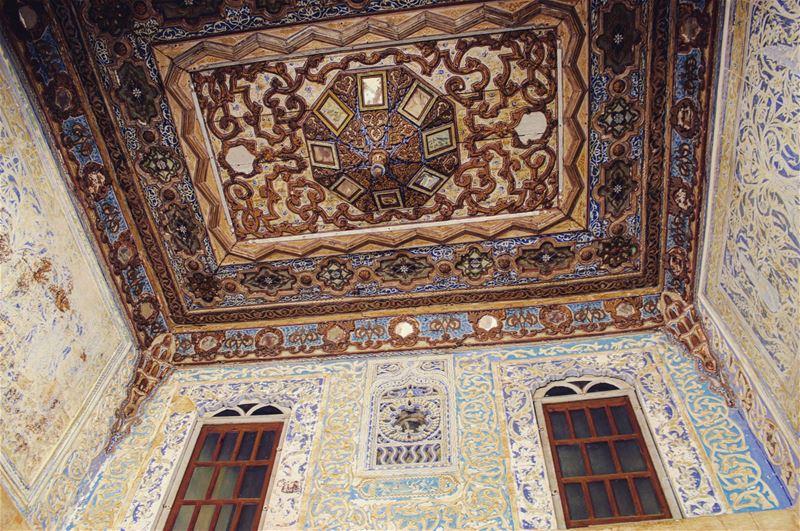 My kinda exterior/interior inspiration 🎠 humblelifegoals lebanontimes ... (Beiteddine Palace)