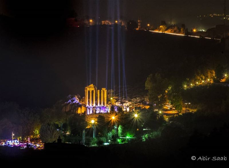 The beautiful fortress of faqra ... lebanon faqra ruins festival ... (Ruins Faqra Kfardebian)