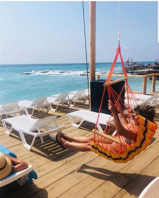 batroun kfarabida havana beach bar beachbar sea mediterraneansea ... (Havana Beach Bar)