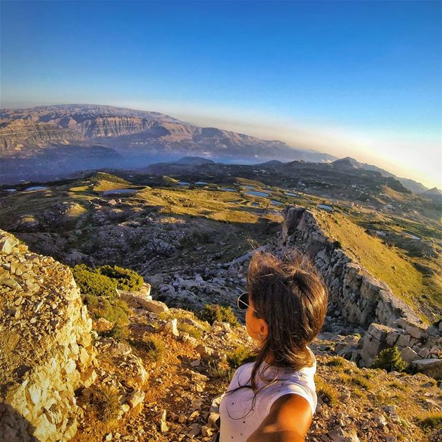 """I climbed across the mountain tops, Swam all across the ocean blue, I... (Lebanon)"