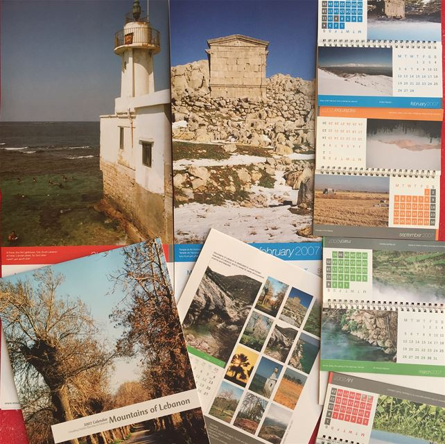 Celebrating 15 years of mountainsoflebanon Calendars! 2007 third edition, (Lebanon)