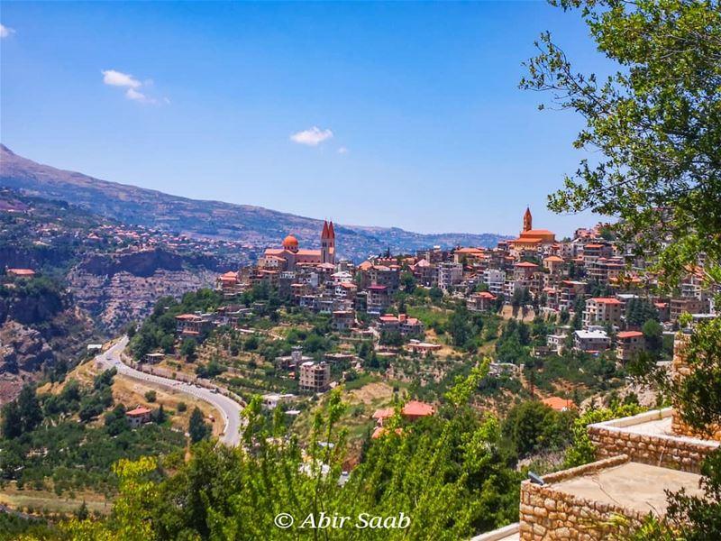 lebanon bsharri village landscape_lover landscapephotography ... (Bcharré, Liban-Nord, Lebanon)