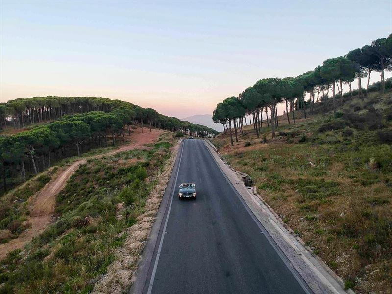 Same spot, same car, never boring. Jnoubing GetOutAndDrive instaroads ... (Nabatieh Governorate)