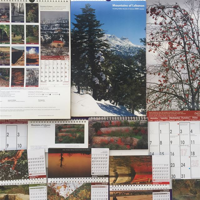 Celebrating 15 years of  mountainsoflebanon Calendars! 2009 5th edition,... (Lebanon)