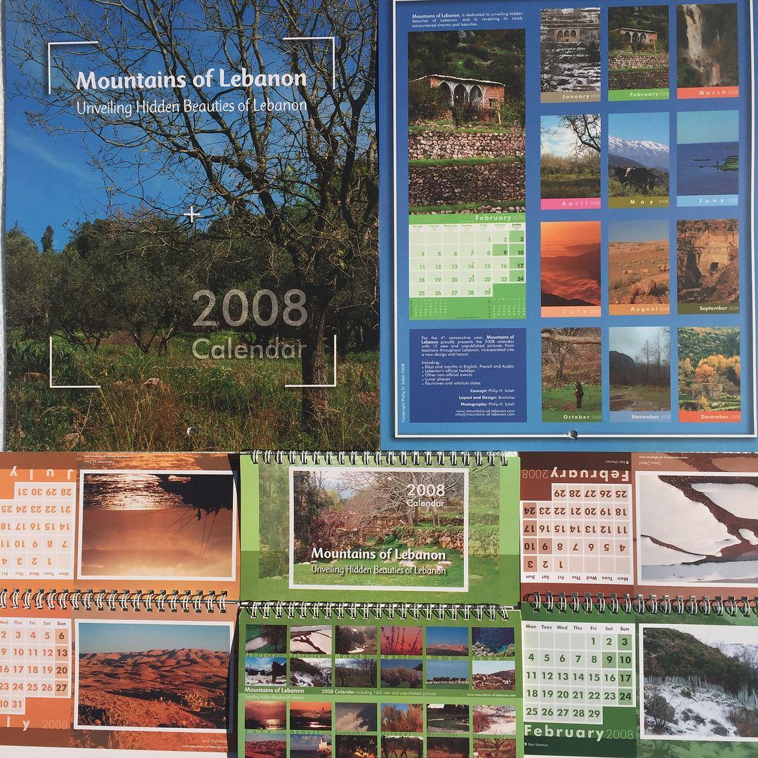 Celebrating 15 years of mountainsoflebanon Calendars! 2008, 4th edition,...