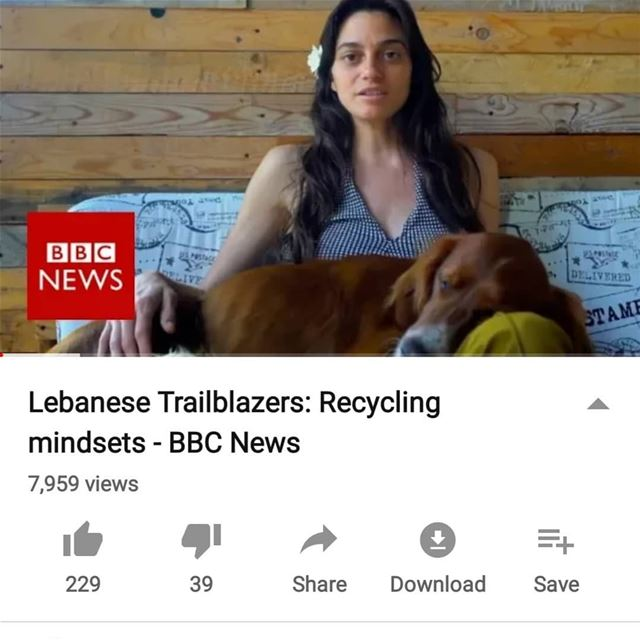 Out now ! Lebanese trailblazers: recycling mindsets Link in bio today:... (Beirut, Lebanon)