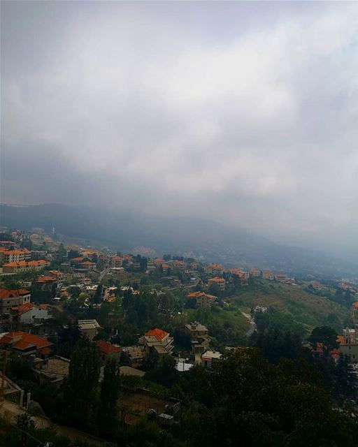 landscape nature redbrick village beautiful today lebanon ... (Hammana)