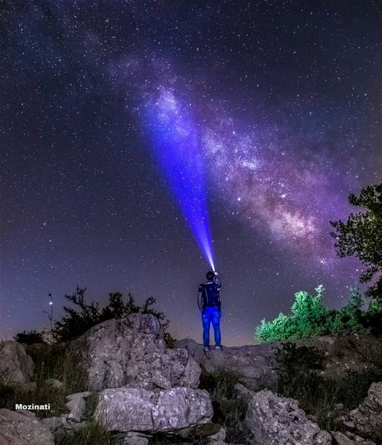 Last night I matched each star with a reason for loving you. I was doing... (Niha, Al Janub, Lebanon)