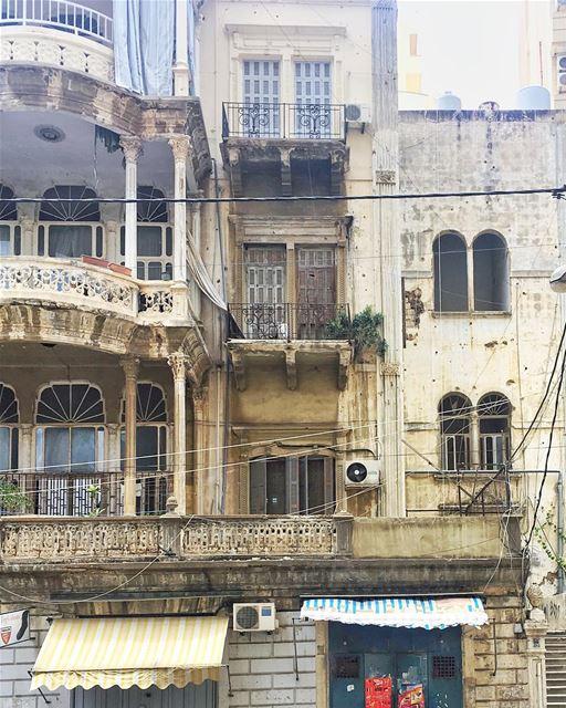typical Beirut ☀️🌷•• ihavethisthingwithbeirut passionpassport ... (Beirut, Lebanon)