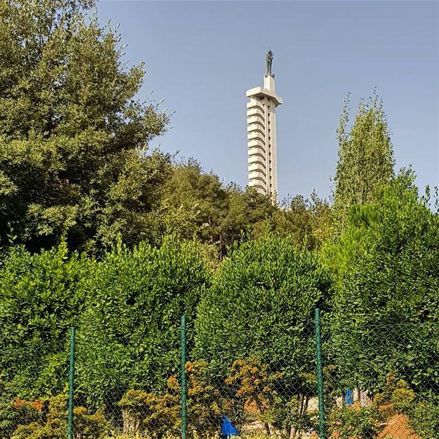 Zahle. ... zahle lebanon ladyofzahle bekaa green tree nature... (Zahlé, Lebanon)