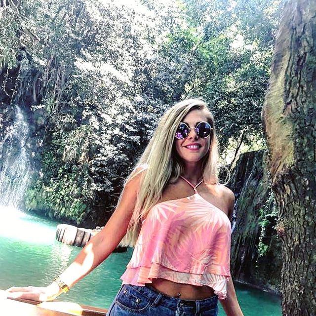 Heaven ❤💚💙 mothernature nature heavenonearth river waterfalls ... (Baakline, Mont-Liban, Lebanon)
