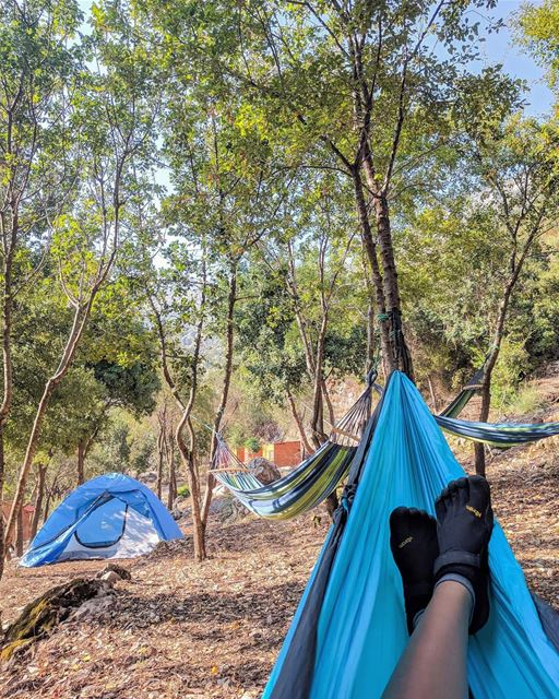 Not all those who wander are lost 👣 deefordiscovery....Camping with... (Hâqel, Mont-Liban, Lebanon)