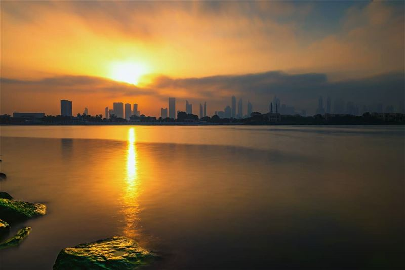 Every Sunset with its dreams and feelings.Never repeats, once in a life... (Dubai, United Arab Emirates)