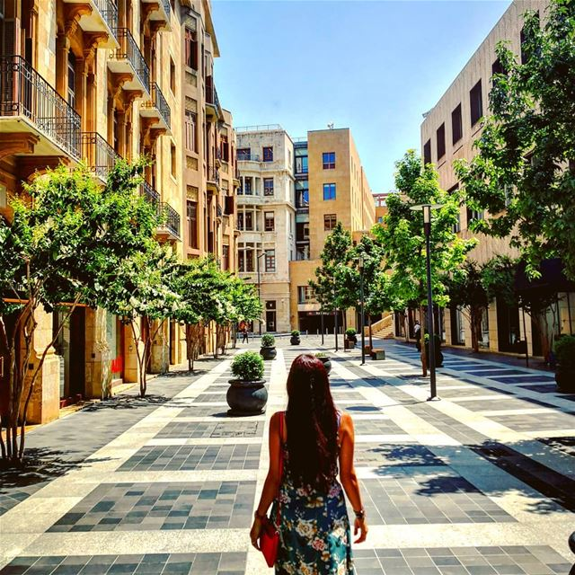 🏙️Empty city!What a feeling 🧚‍♀️ (Downtown Beirut)